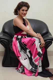Actress Shraddha Das Latest Stills in Stylish Dress at tur Talkies Audio Launch  0036.jpg