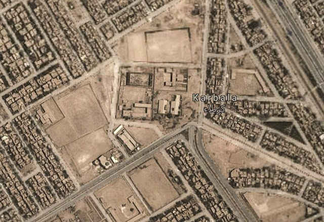 Padang Karbala tempat sayyidina Husein terbunuh oleh pasukan Yazid