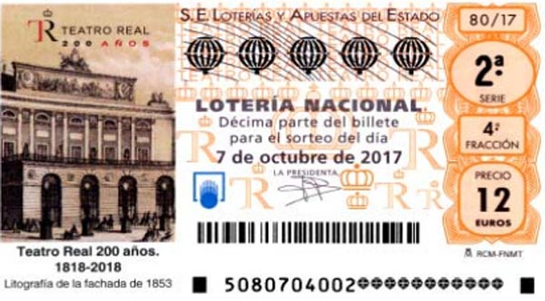 loteria nacional especial de octubre