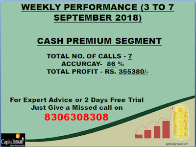 Cash Premium Segment by CapitalHeight