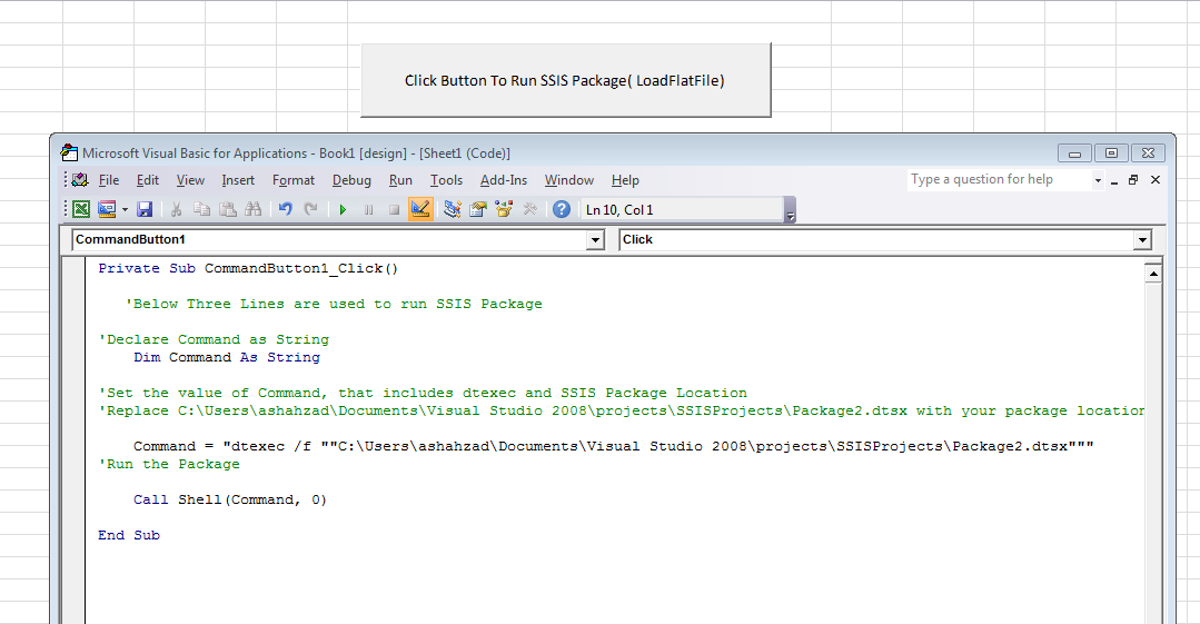 Welcome To TechBrothersIT: SSIS - How To Run SSIS Package By Using