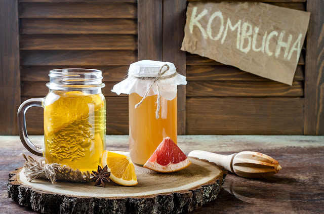 شاي الكمبوتشا kombucha
