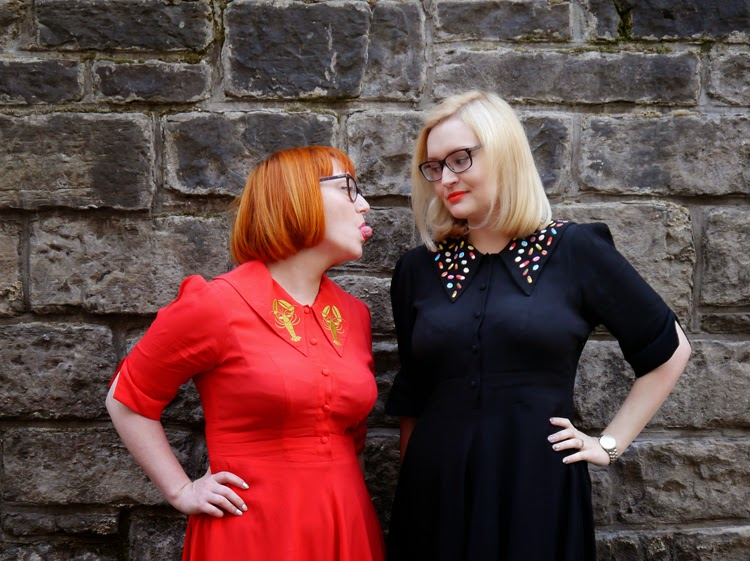 Wardrobe Conversations, blogging duo, scottish bloggers, #scotstreetstyle, Coco Fennell, Karen Mabon, matching outfits, fashion twins,