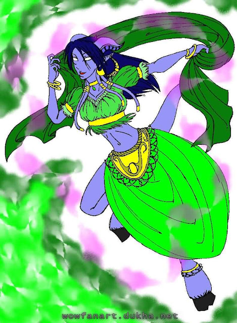 Дренейка-танцовщица
