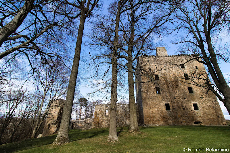 Spynie Palace Scottish Highlands Road Trip Itinerary