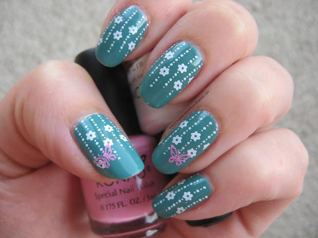 Stamping Nail Art Design