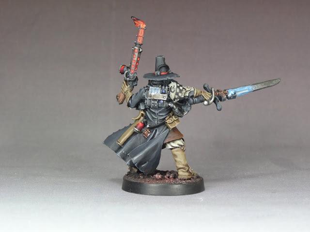 LEADPLAGUE: Witch Hunter Inquisitor - Agent Giraud