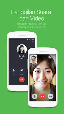 Download LINE: Free Calls & Messages Apk Versi Terbaru Gratis Data