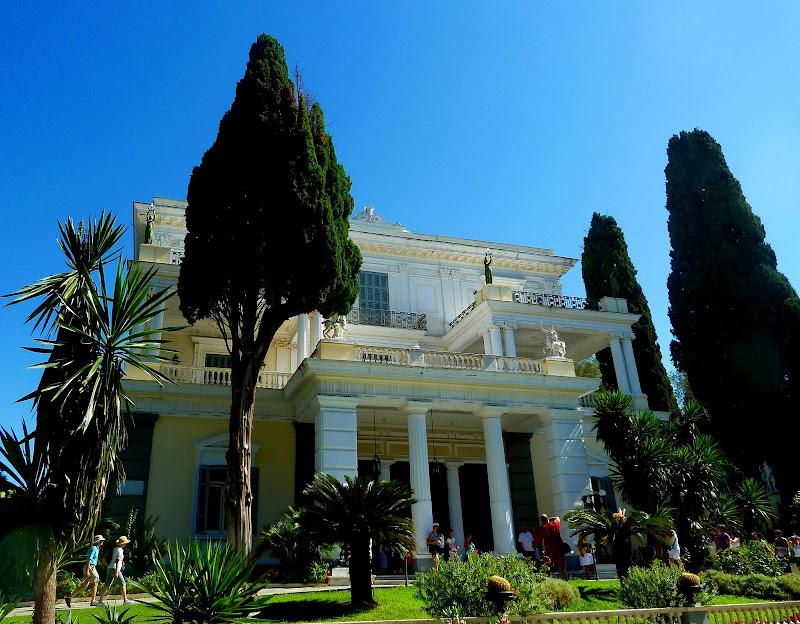Achilleion Palast in Korfu