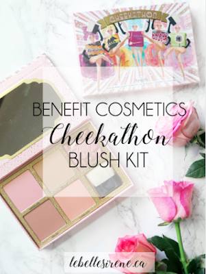 "Cheek to Cheek | Benefit Cosmetics Cheekathon ""Kick Up Your Cheeks Blush Kit"" 