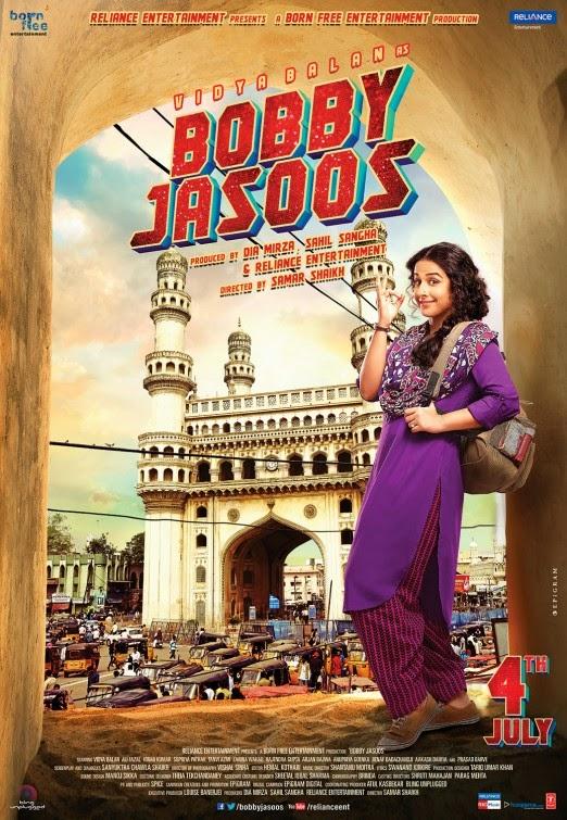 Bobby Jasoos 2014 full hd Hindi 480p DVDRip 350MB