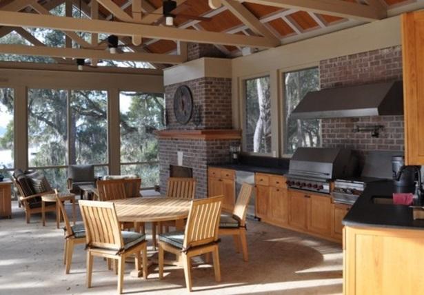 120 Как украсить летнюю кухню