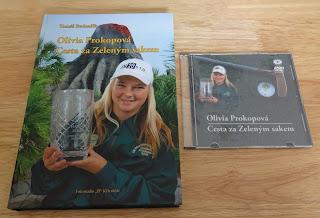 Olivia Prokopová's minigolf book