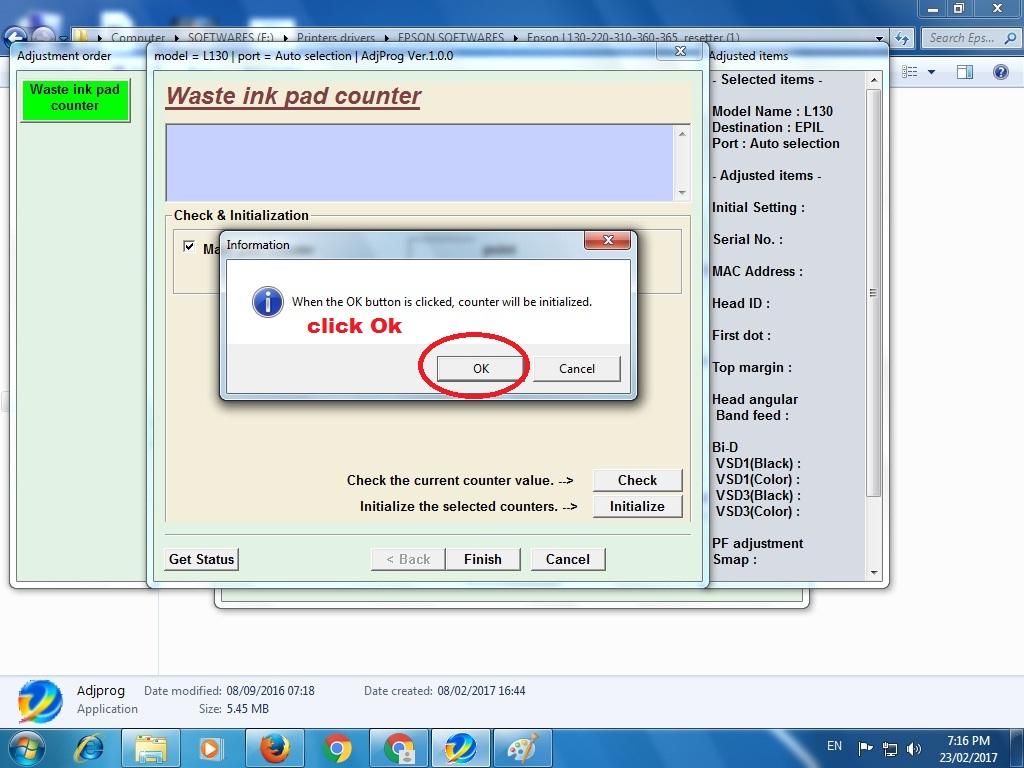 💌 Anp epson resetter l380 free download | Epson L380 L383 L385 L485