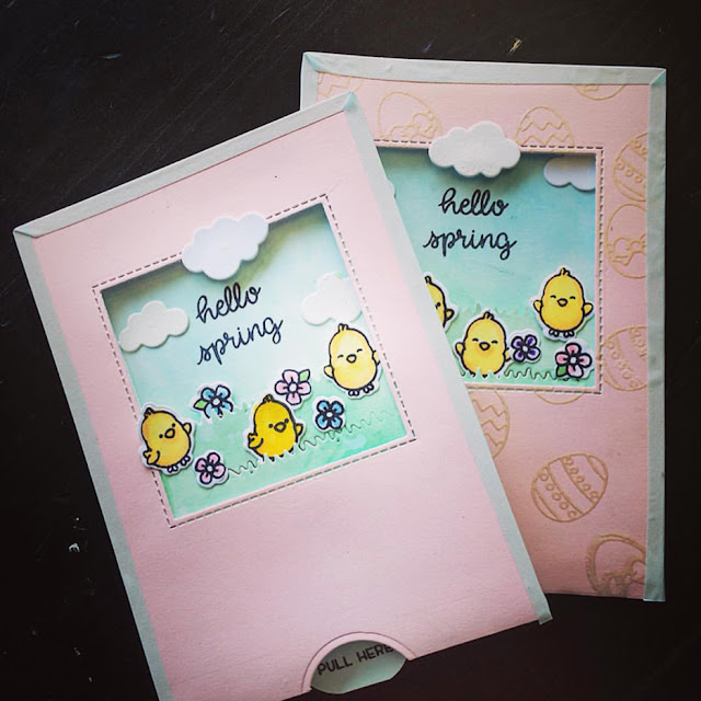 Sunny Studio Stamps: Chubby Bunny Customer Card Share by Twinknallacrafts