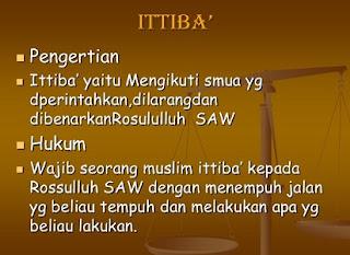 Pengertian Ittiba,ittiba dan taqlid,pengertian taqlid,pengertian tarjih,pengertian talfiq,contoh ittiba,pengertian ijtihad,arti kata ittiba,ittiba dan contohnya,pengertian,