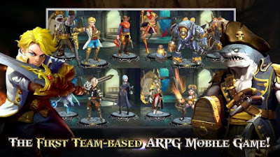 Heroes Of Skyrealm MOD Full Unlocked v1.1.0 Apk Android Latest Update Free Download