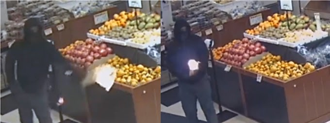 Enmascarado  intenta quemar supermercado en Brooklyn con bombas  molotov habiendo numerosos clientes