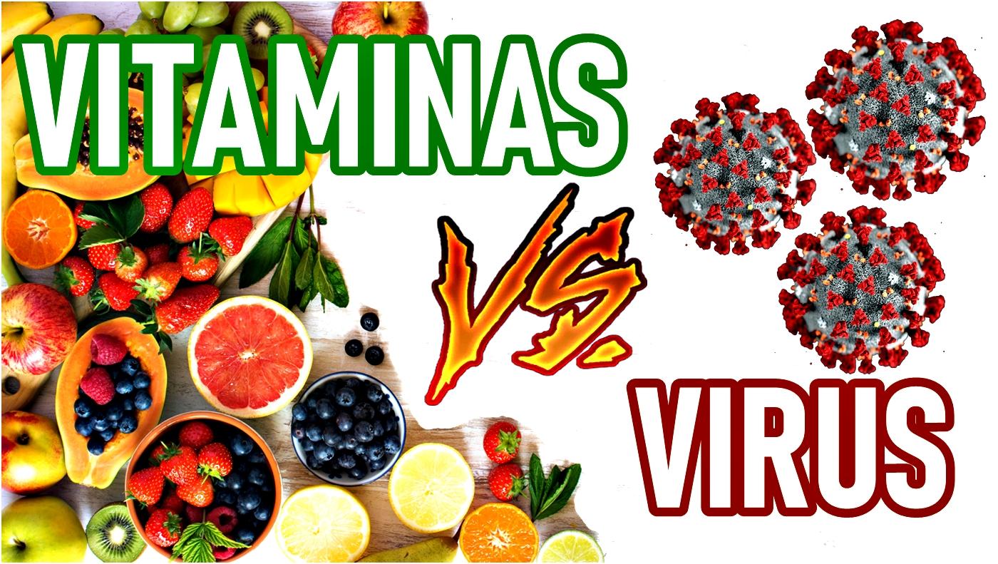 Vitaminas que aumentan las defensas contra los virus