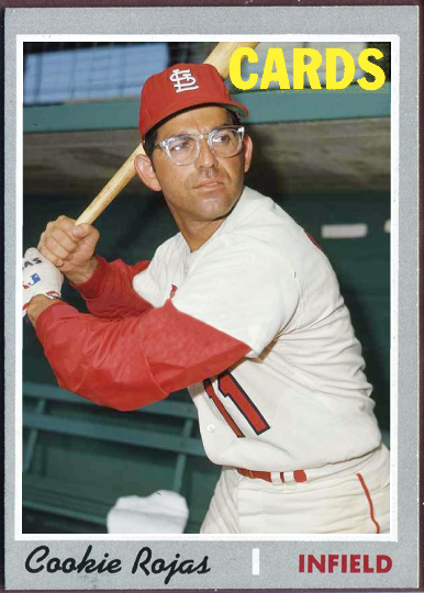 When Topps Had Baseballs 1970 Re Do Cookie Rojas