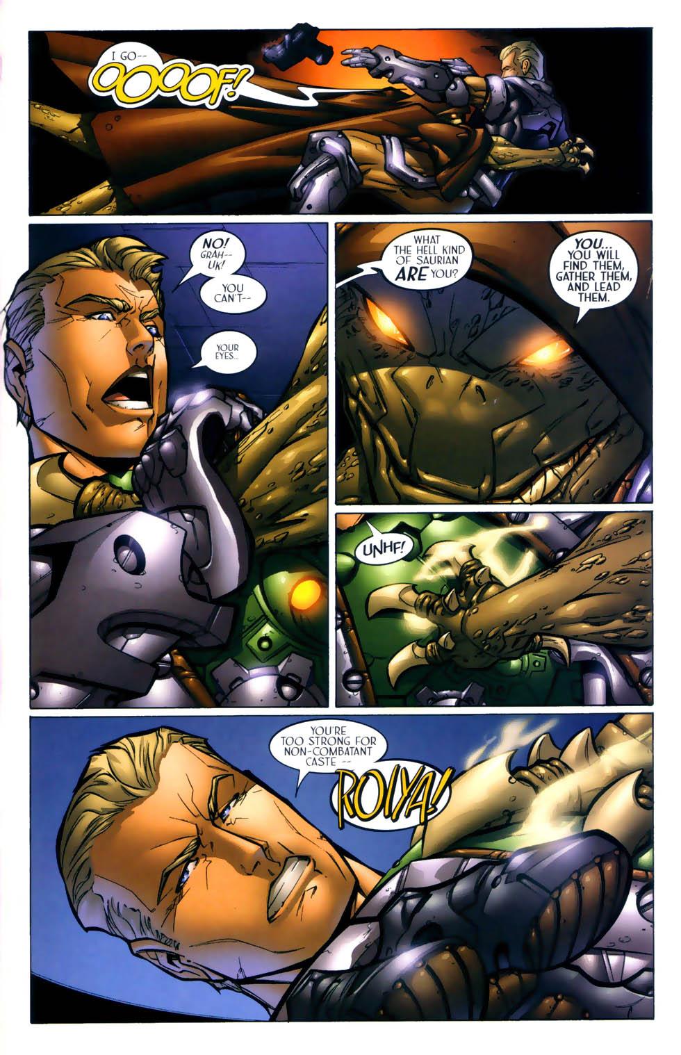 Read online Sigil (2000) comic -  Issue #1 - 22