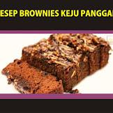 Resep Brownies Keju dengan Rice Cooker dan Cara Membuat