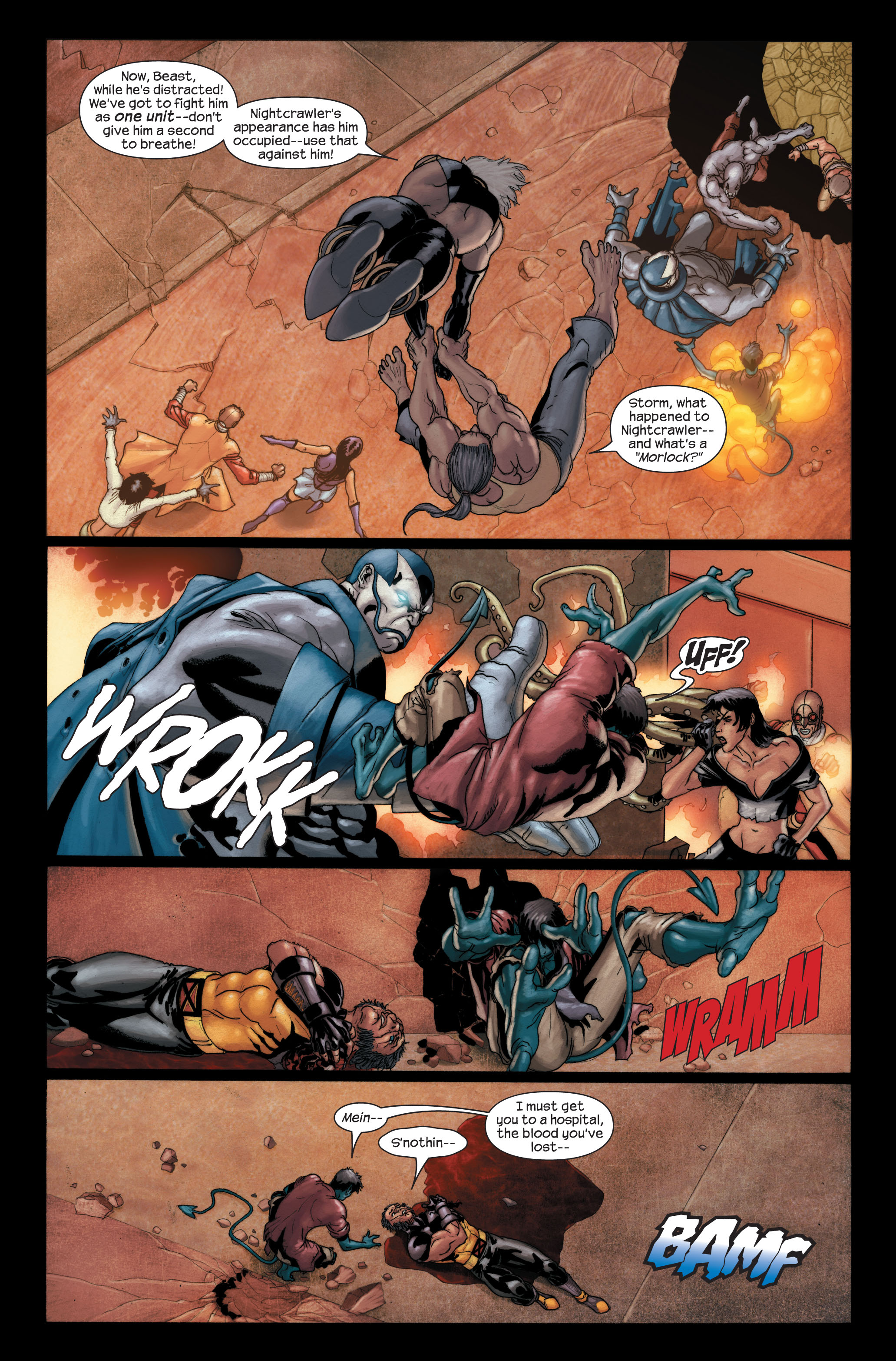 Read online Ultimate X-Men comic -  Issue #91 - 12