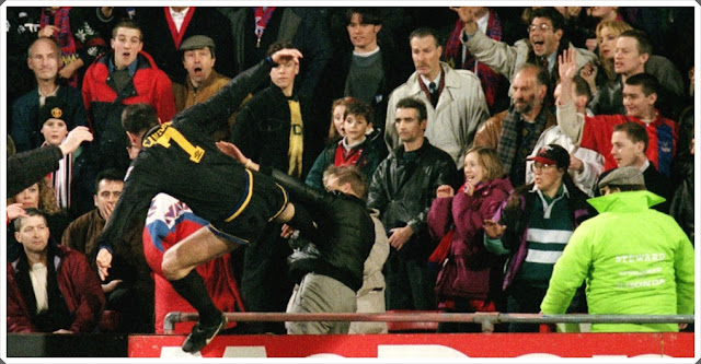 Cantona Flying Kick