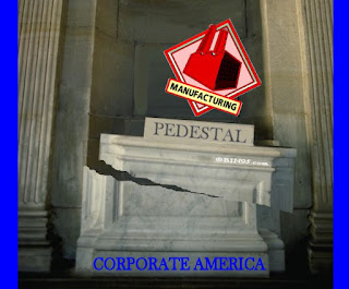 Large US Manufacturing (and rest of Corporate America) has been put on a pedestal in the USA.