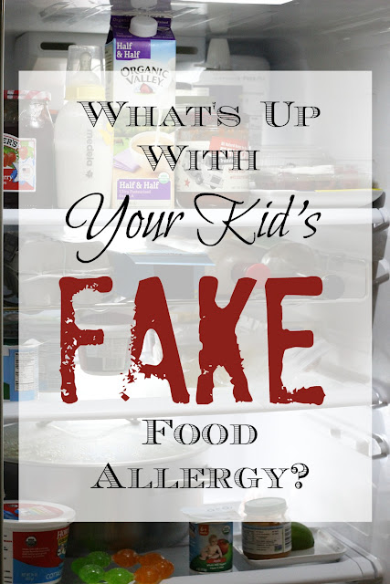 Why are parents self-diagnosing their children's food allergies, often erroneously?