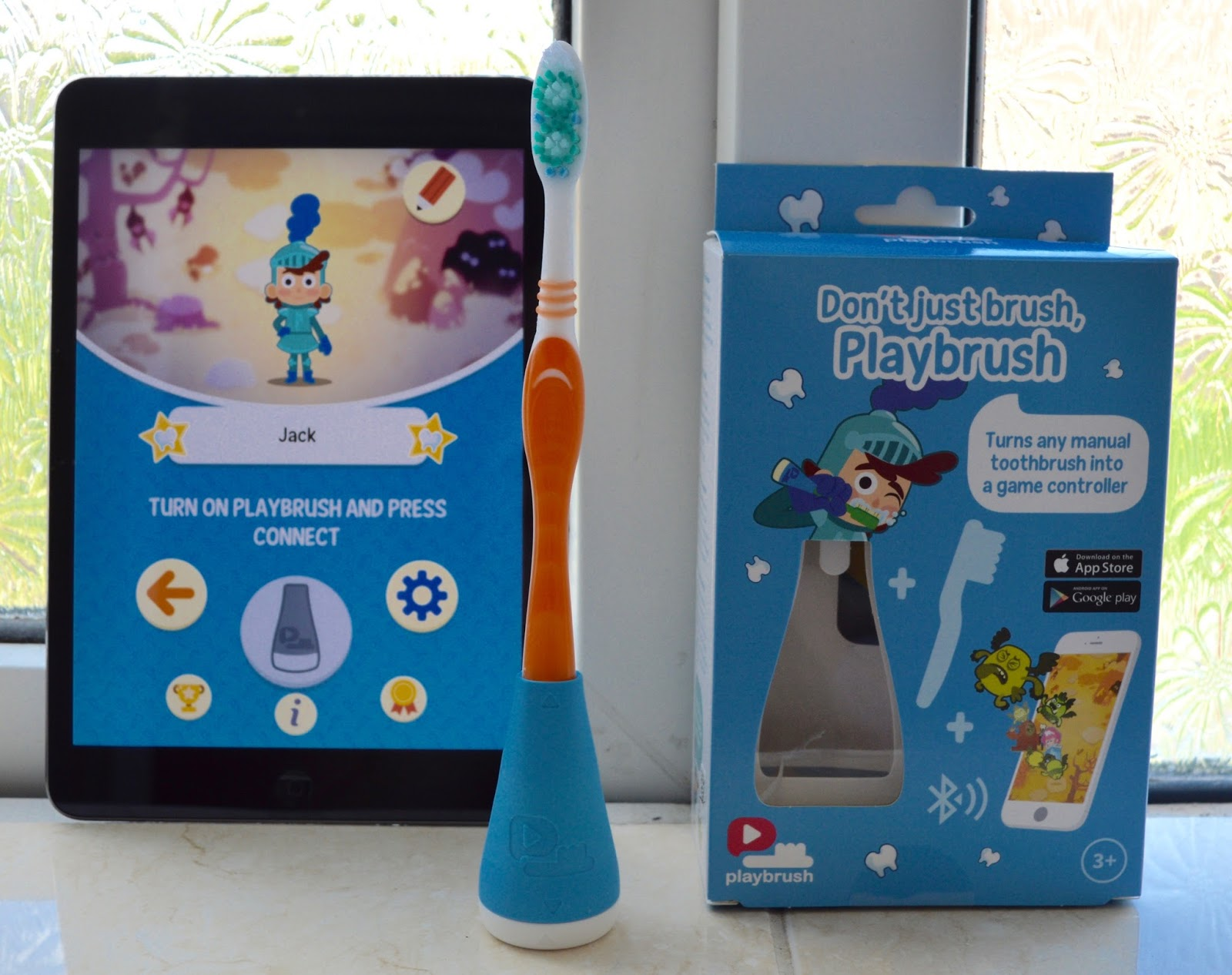 Don't just brush, Playbrush review | Turn your child's toothbrush into a fun game - iPad app