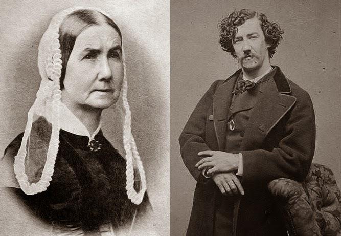 Anna Matilda y su hijo James McNeill Whistler