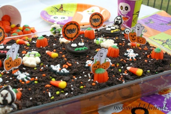 Mommys Kitchen Recipes From my Texas Kitchen Halloween Dirt Cake