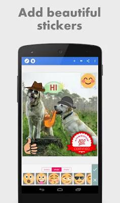 تطبيق PixelLab - Text on pictures لاضافة مؤثرات نصية على صورك نسخة بدون اعلانات