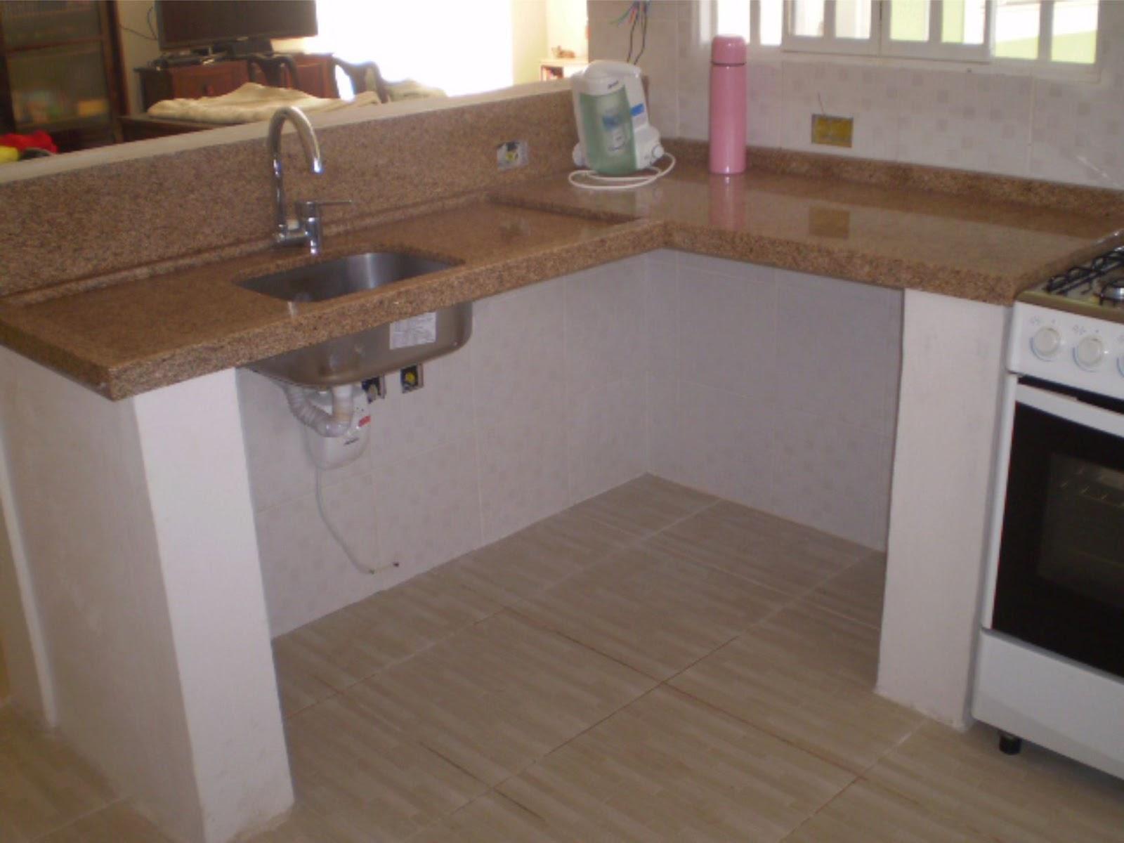Como Fazer Bancada De Cozinha Em Concreto Beyato Com V Rios  ~ Balcão De Cozinha Em Alvenaria