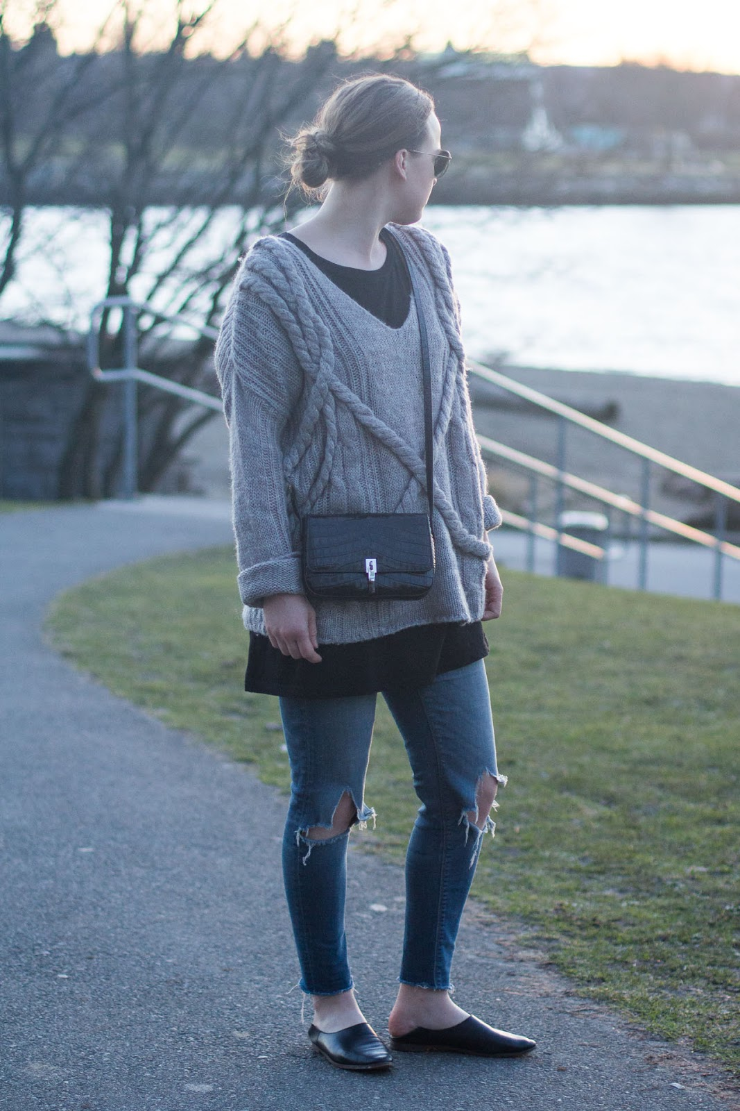 Elizabeth and James cynnie flap bag - Outfit - Vancouver Fashion Blogger