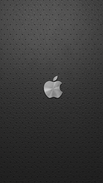 Apple logo black background iphone 5 wallpaper-coolwallpaperforiphone_com