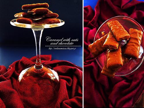 Карамель в шоколаде