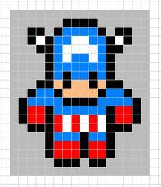Mignon Petit Pixel Art Facile
