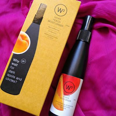 w2 ivory peach moisturiser review