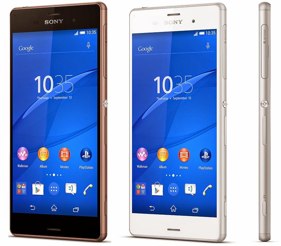 Harga Sony Xperia Z3, Spesifikasi Sony Xperia Z3