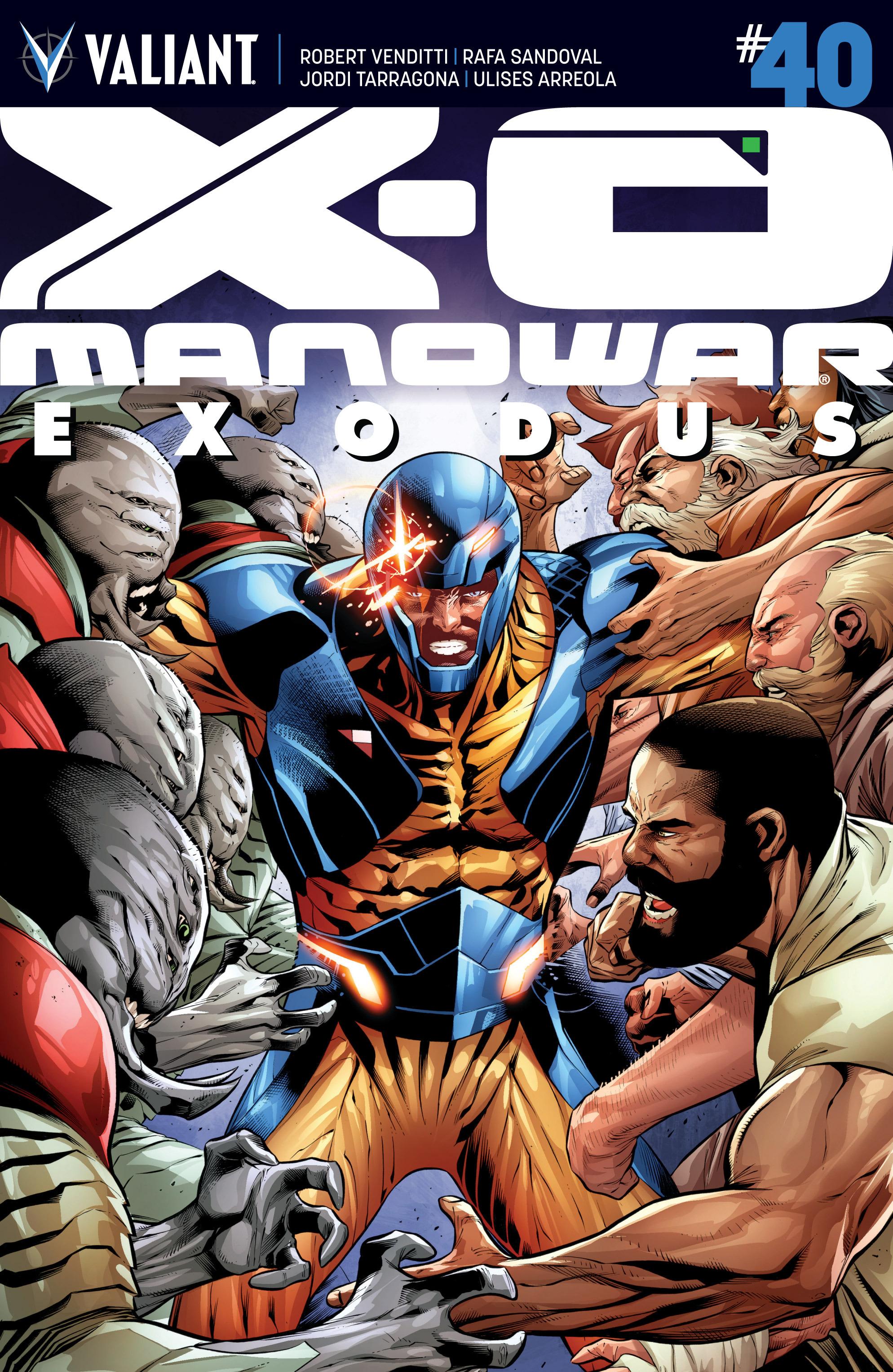 X-O Manowar (2012) 40 Page 1