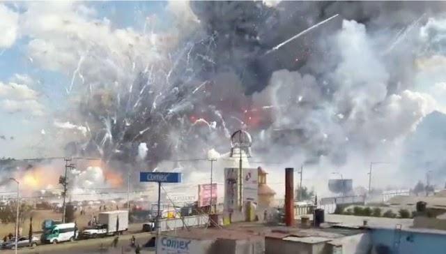 Explosión de cohetes cobra la vida a mas de 26 personas