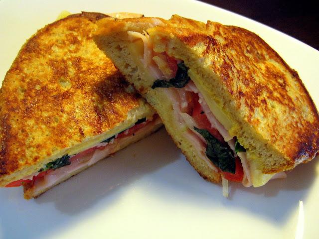 Yogurt Breakfast Sandwich