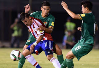 Bolivia vs Paraguay en Eliminatorias CONMEBOL Rusia 2018