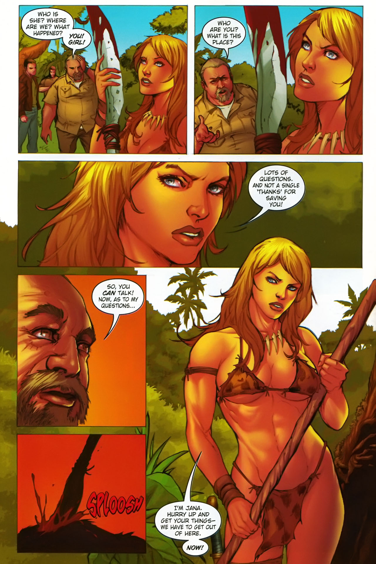 Read online Jungle Girl comic -  Issue #1 - 11