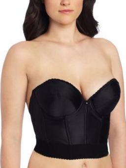Backless longline bra