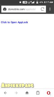 cara supaya applock tidak muncul di menu aplikasi