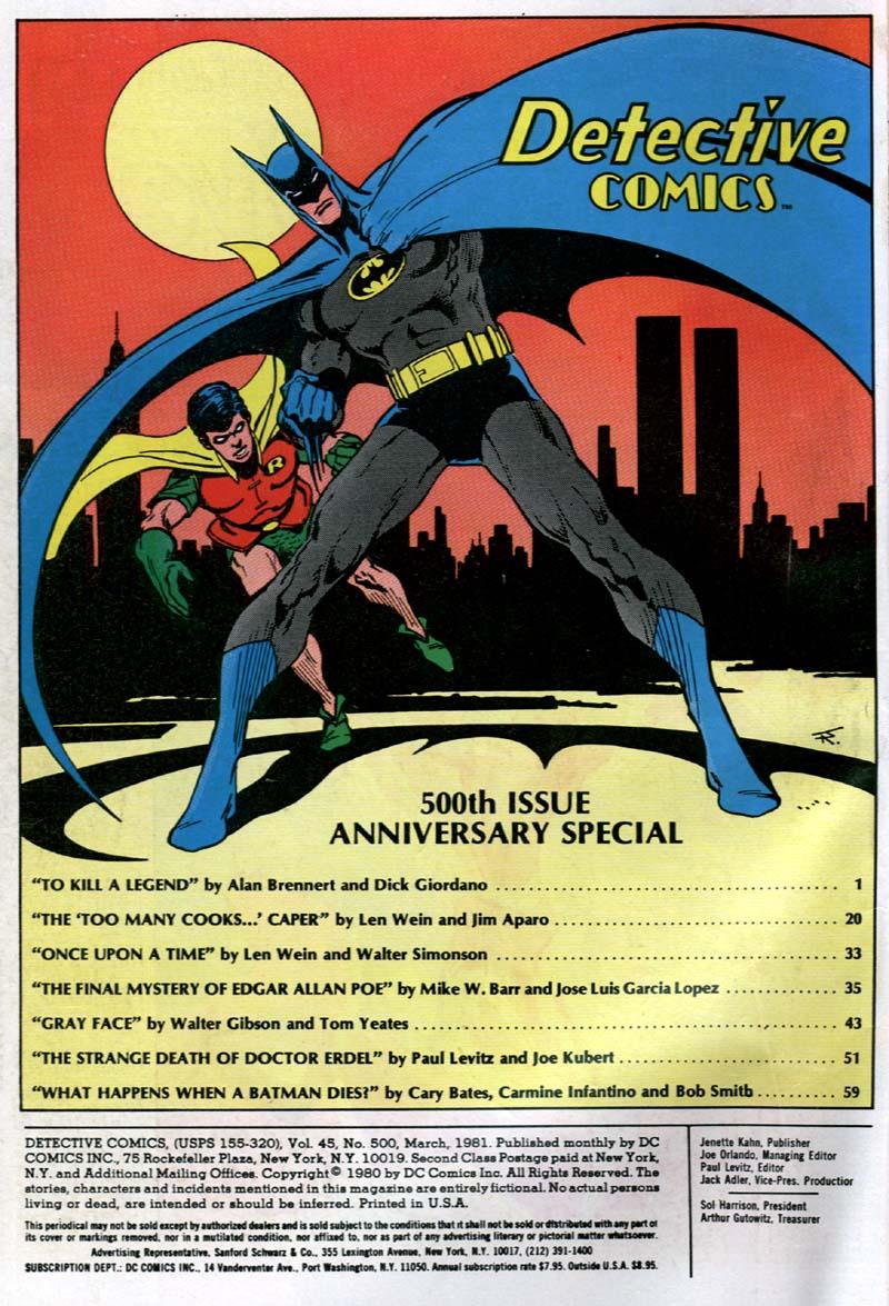Detective Comics (1937) 500 Page 3