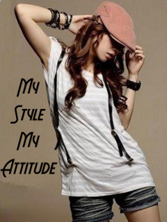My Life My Rules My Attitude Wallpapers For Girls Stylish Girls With Attitude Top Profile Pictures